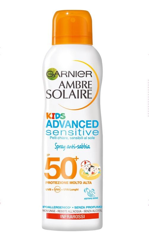 AMBRE SOLAIRE OLIO SPRAY SPF50 KIDS