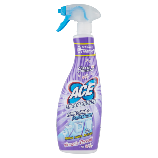 ACE SPRAY MOUSSE 650ML FLOREALE