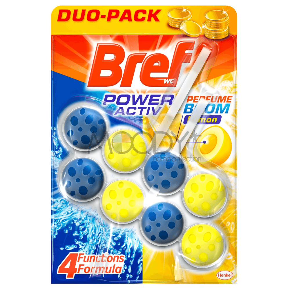 BREF WC POWER ACTIV LEMON 2X50G