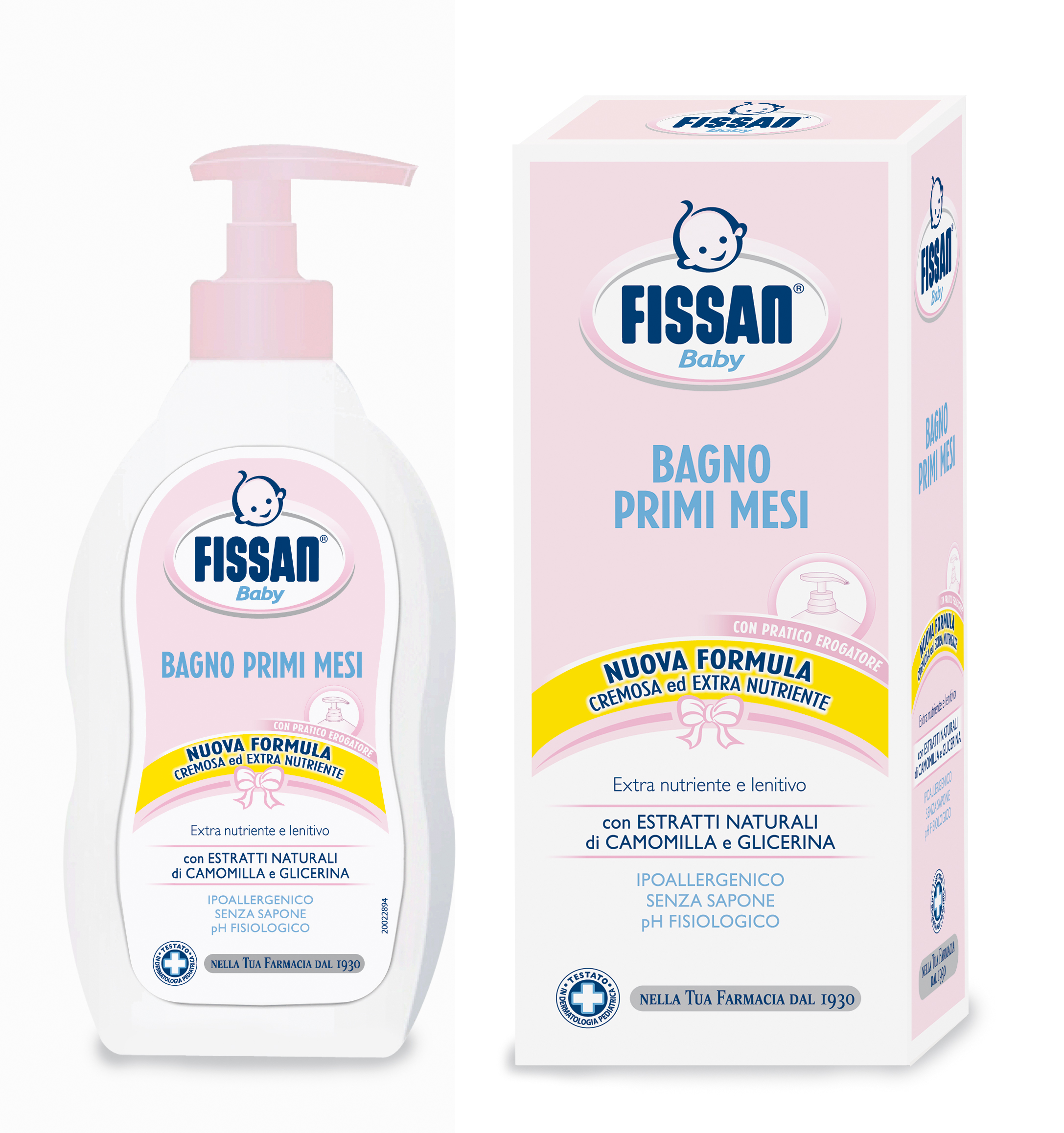 FISSAN BABY BAGNETTO 500ML PRIMI MES