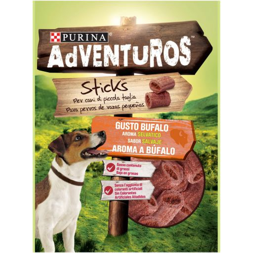 ADVENTUROS DOG NUGGETS STRIP 90GR