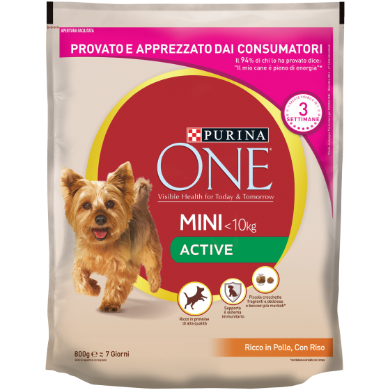 ONE DOG MINI ACTIVE 800 GR POLLO E