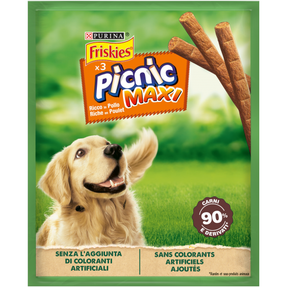 FRISKIES DOG PICNIC MAXI 45GR POLLO