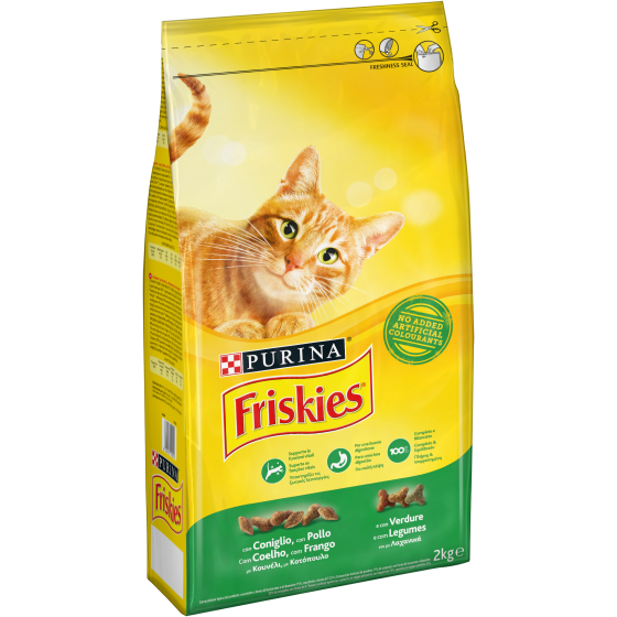 FRISKIES CAT 2KG CONIGLIO POLLO E