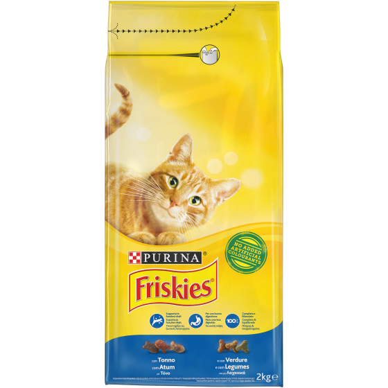 FRISKIES CAT 2KG TONNO VERDURE