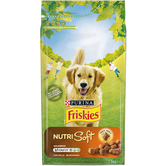 FRISKIES DOG NUTRI SOFT 1,5KG POLLO