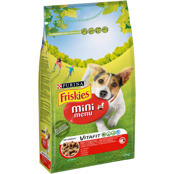 FRISKIES DOG MINI MENU' 1,5KG MANZO