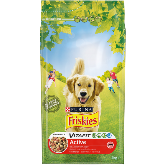 FRISKIES DOG CROCCANTINI 4KG ACTIVE