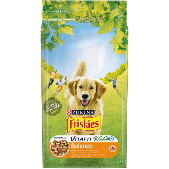 FRISKIES DOG BALANCE 4KG POLLO E