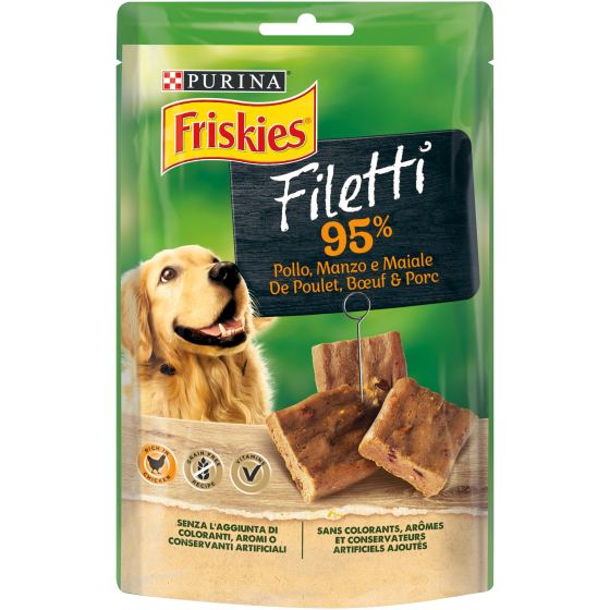 FRISKIES DOG FILETTI MANZO/POLL 70GR