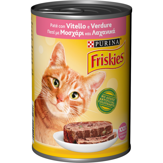 FRISKIES CAT 400GR PATE' VITELLO E