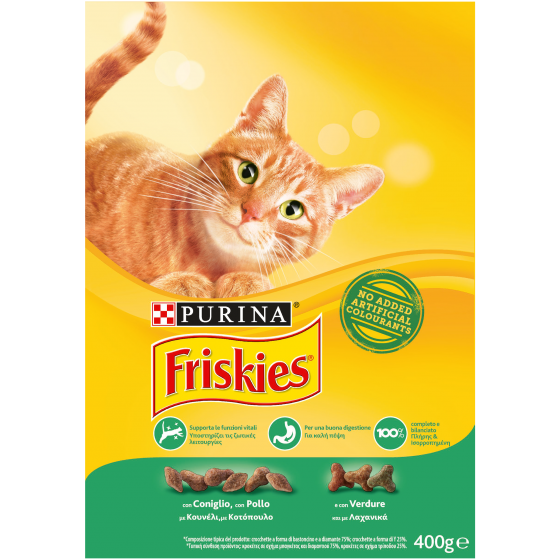 FRISKIES CAT CROCCANT. 400GR POLLO