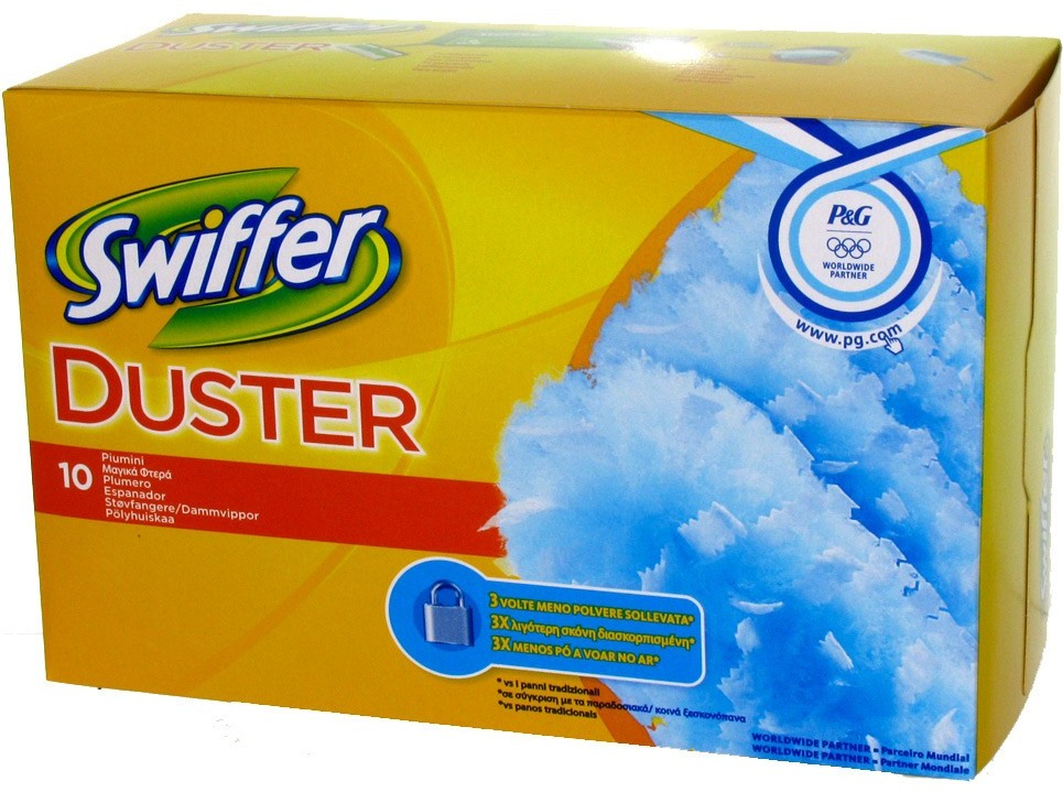 SWIFFER DUSTERS RICAMBI 10 PZ